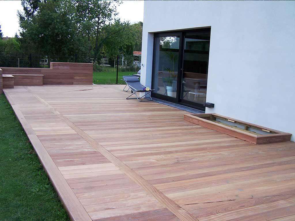 Quel Est Le Meilleur Bois Pour Terrasse terrasse en bois : (pose, lame, composite, tous savoir