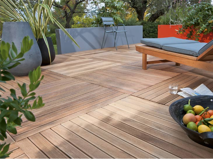 Tout savoir sur la pose des terrasses en bois